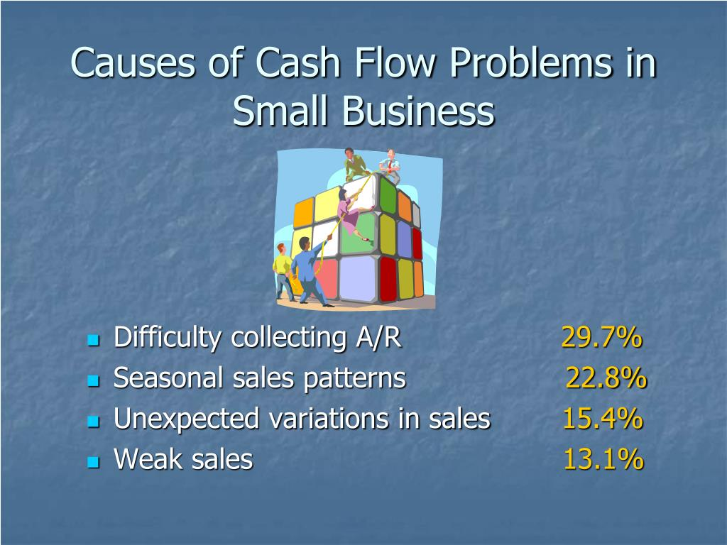Causes of Cash Flow Problems in Small Business