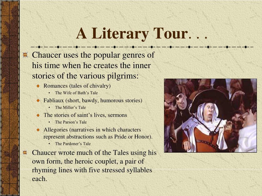 A Literary Tour