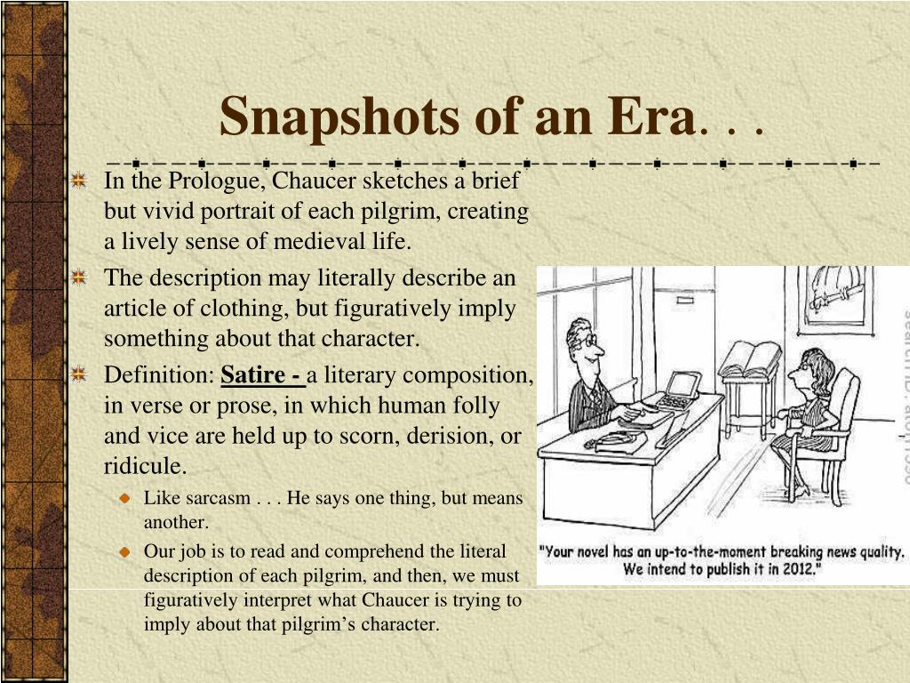 Snapshots of an Era