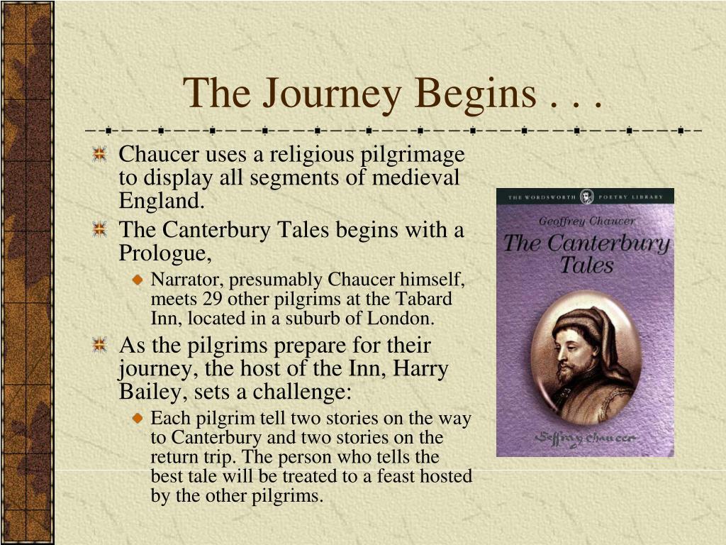 The Journey Begins . . .
