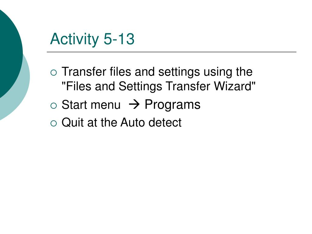 Activity 5-13