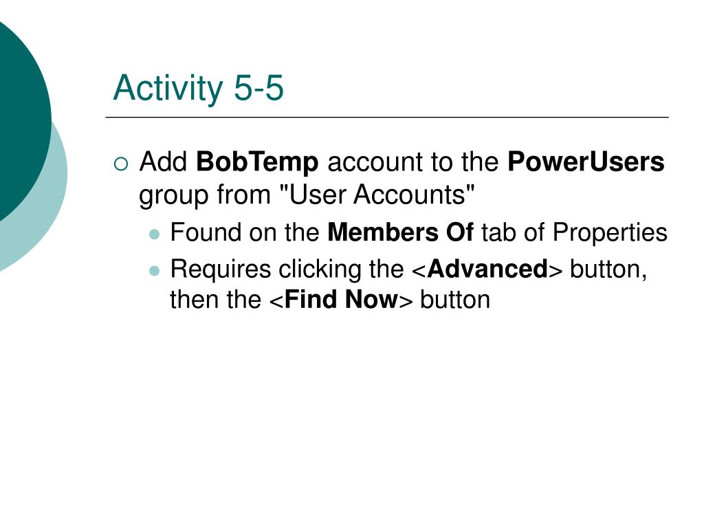 Activity 5-5