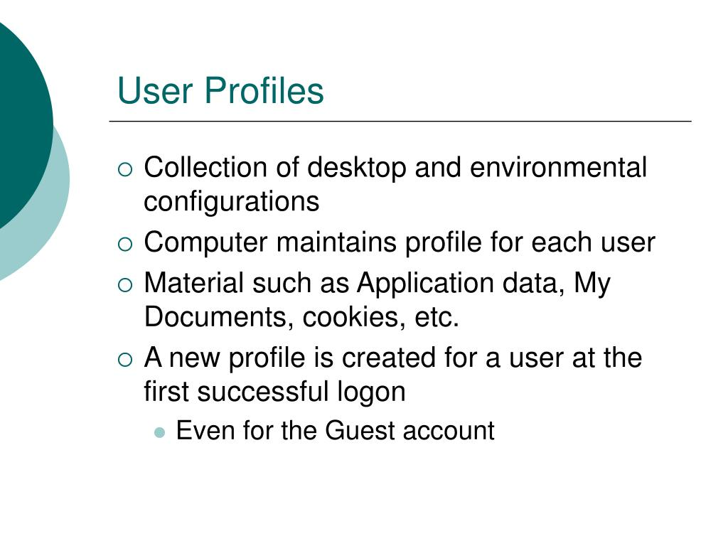 User Profiles
