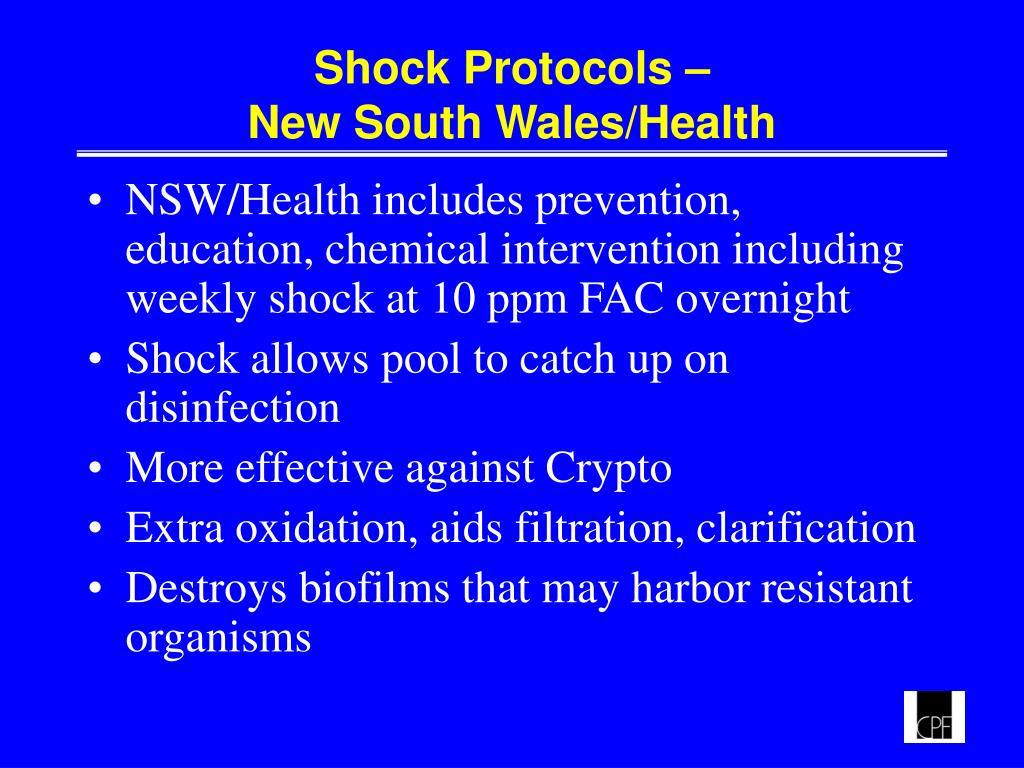 Shock Protocols –