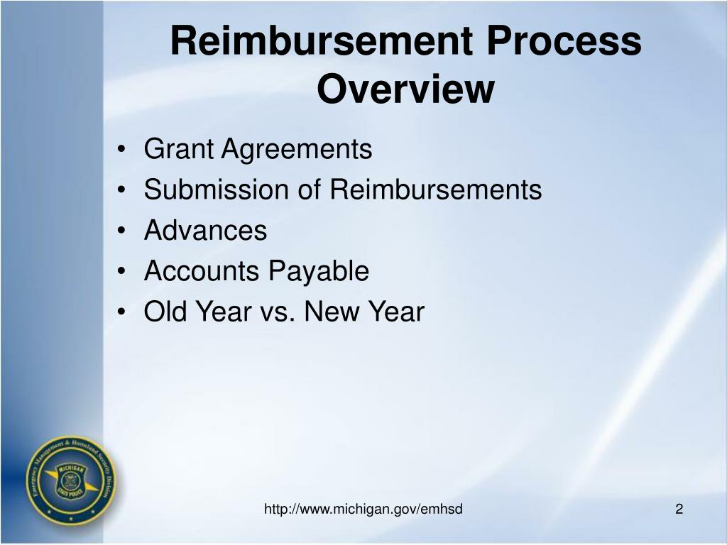 Reimbursement Process Overview
