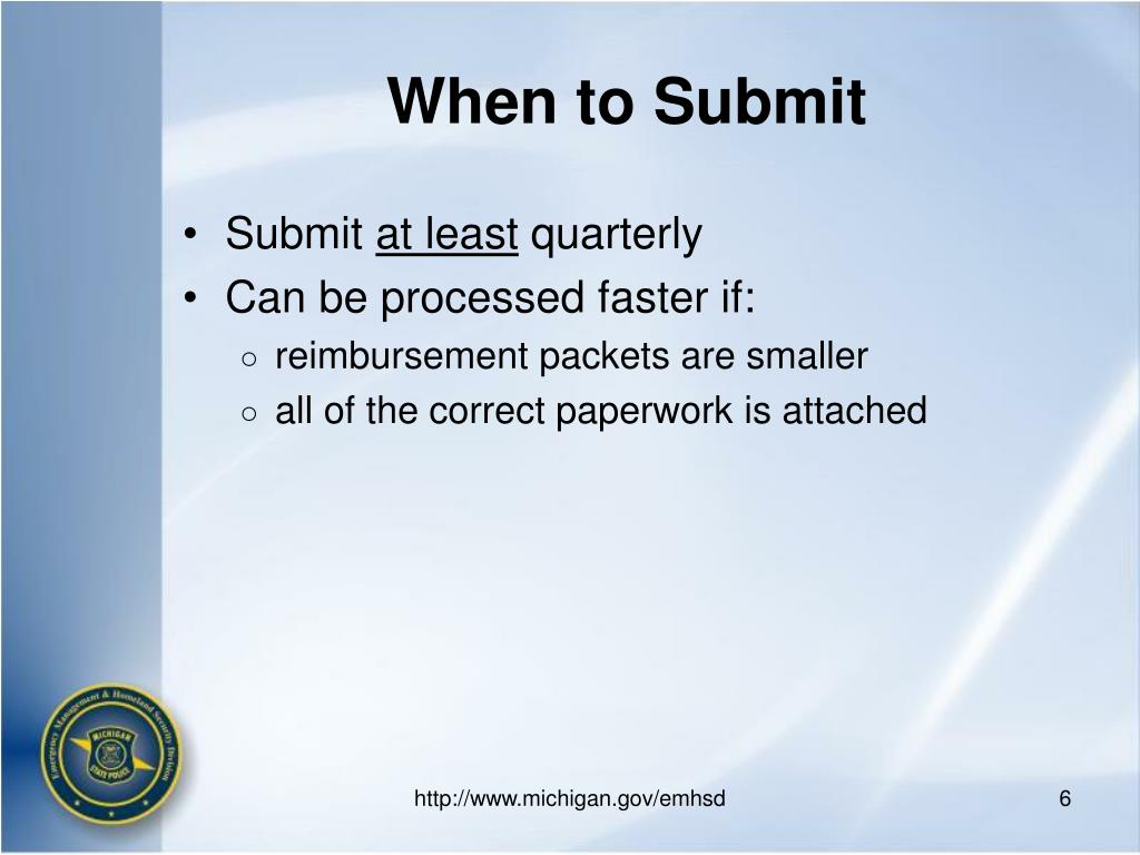 When to Submit