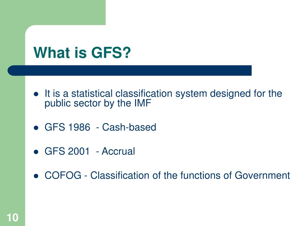 What is GFS?