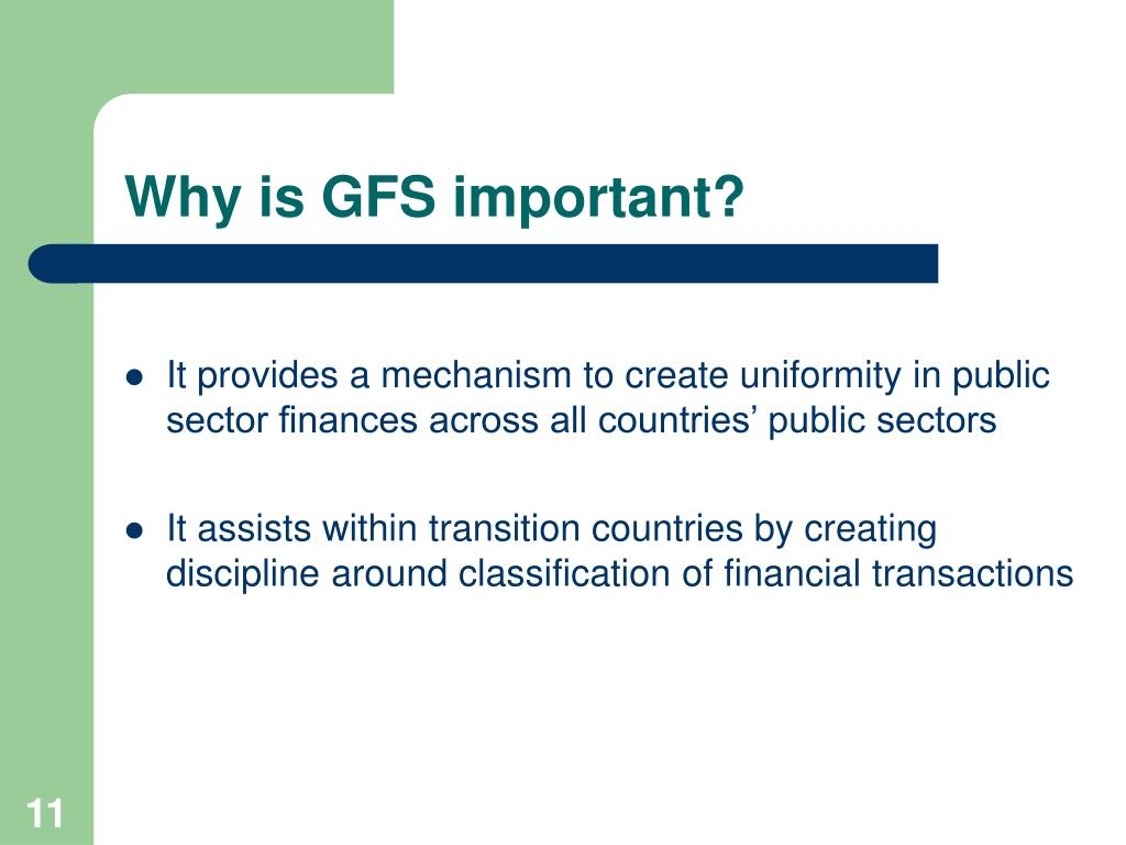 Why is GFS important?