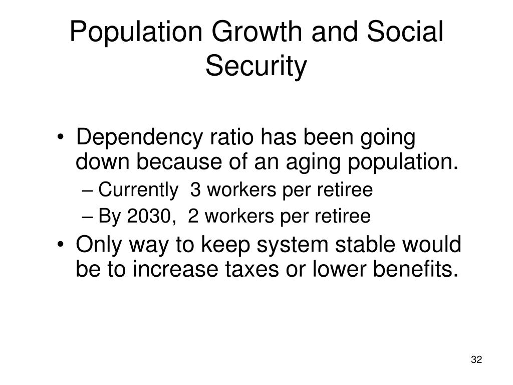 Population Growth and Social Security