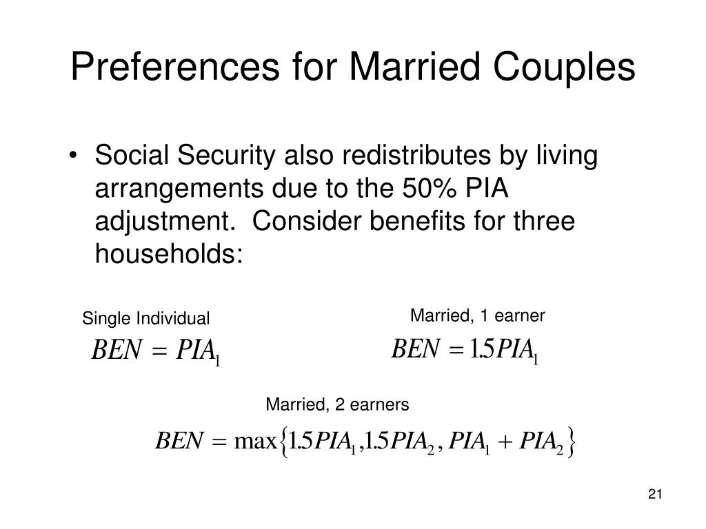Preferences for Married Couples