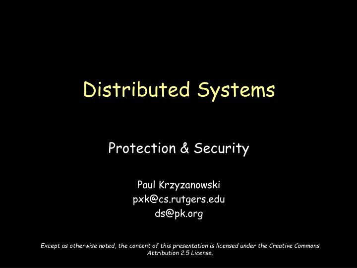 Distributed systems l.jpg