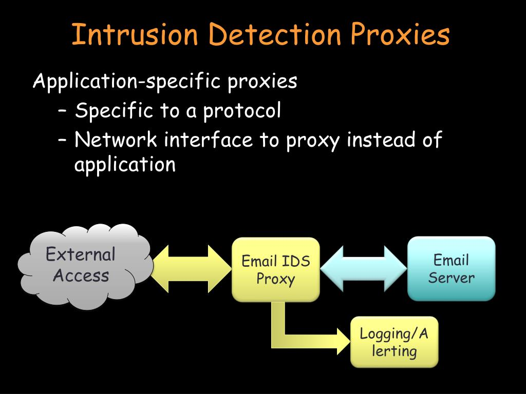 Intrusion Detection Proxies