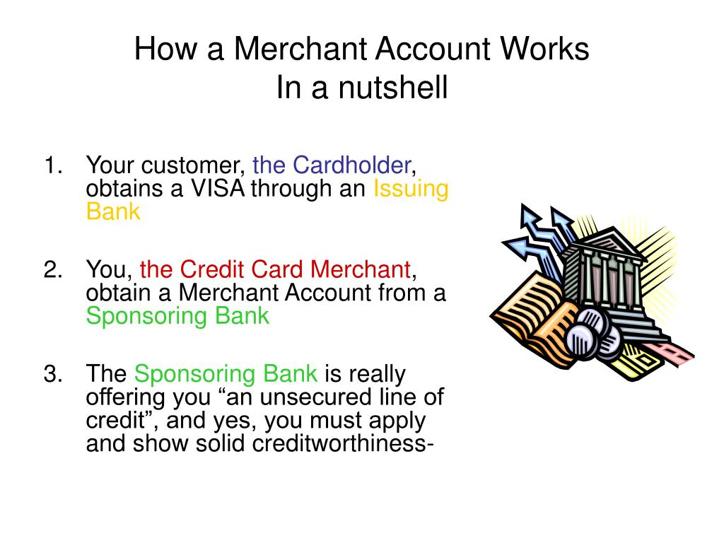 How a Merchant Account Works