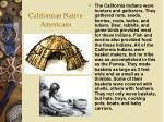 californian native americans