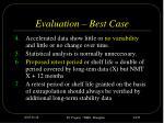 evaluation best case24