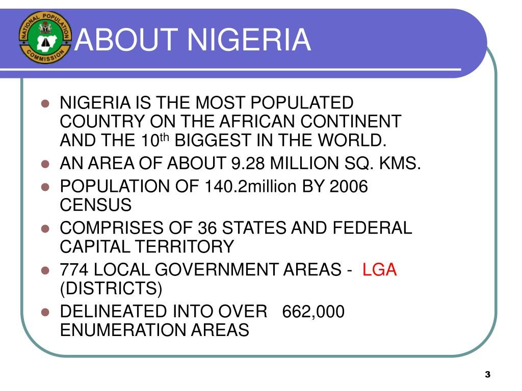 ABOUT NIGERIA