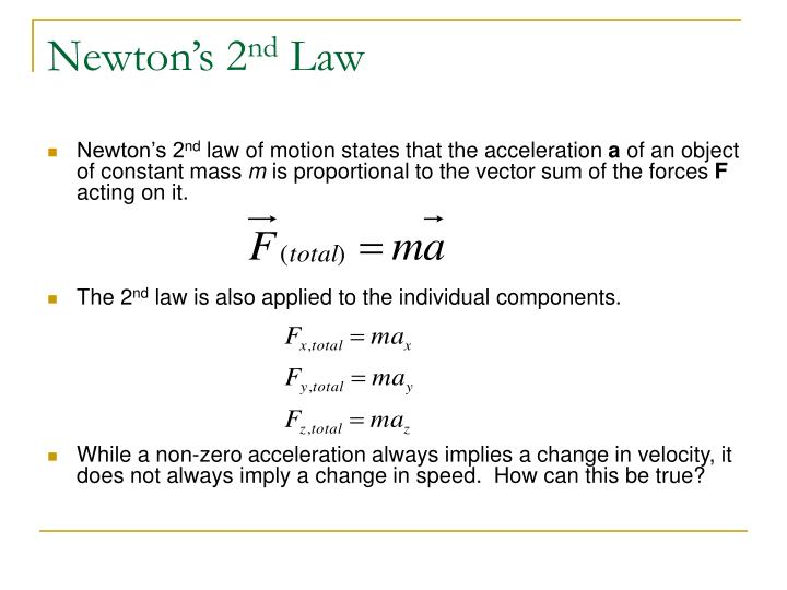 Newton s 2 nd law l.jpg