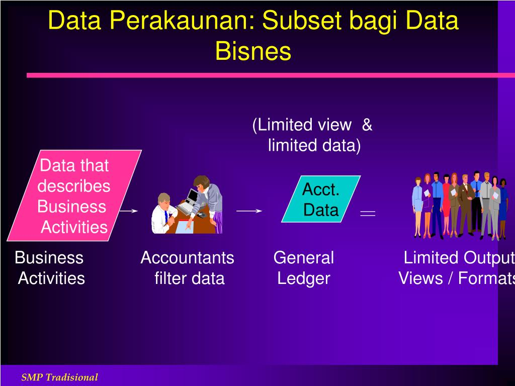 Data Perakaunan: Subset bagi Data Bisnes