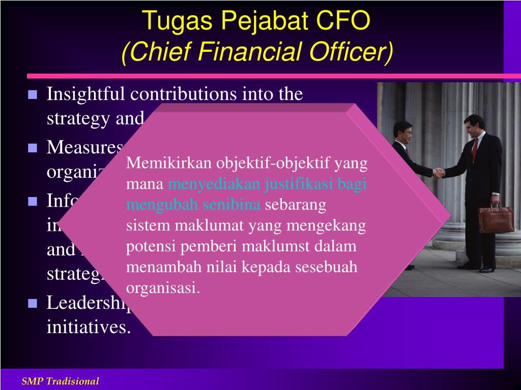 Tugas Pejabat CFO