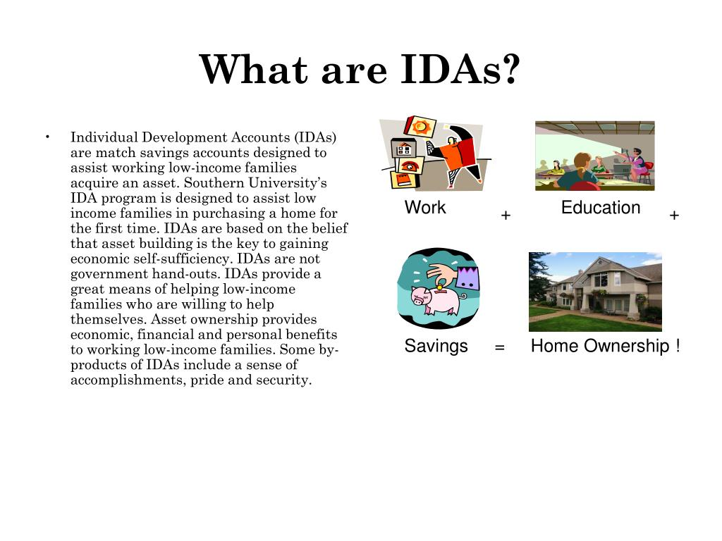 What are IDAs?