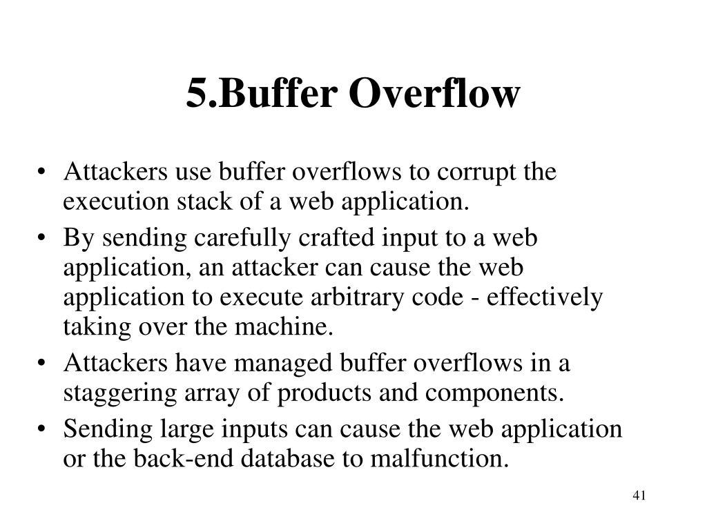 5.Buffer Overflow