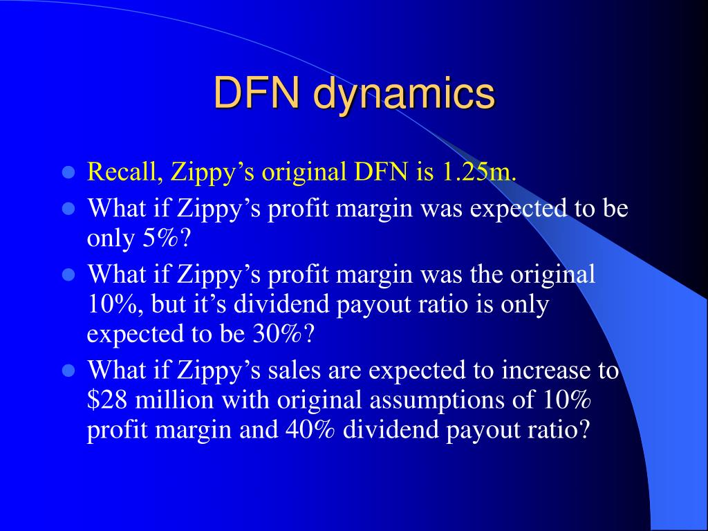 DFN dynamics
