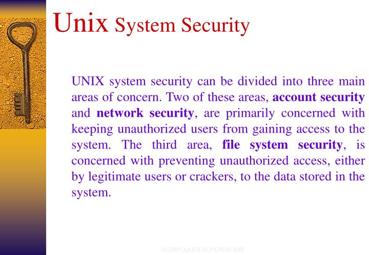 Unix system security l.jpg