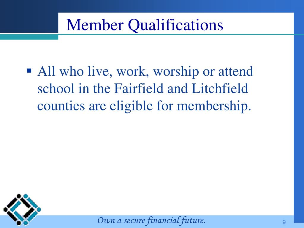Member Qualifications