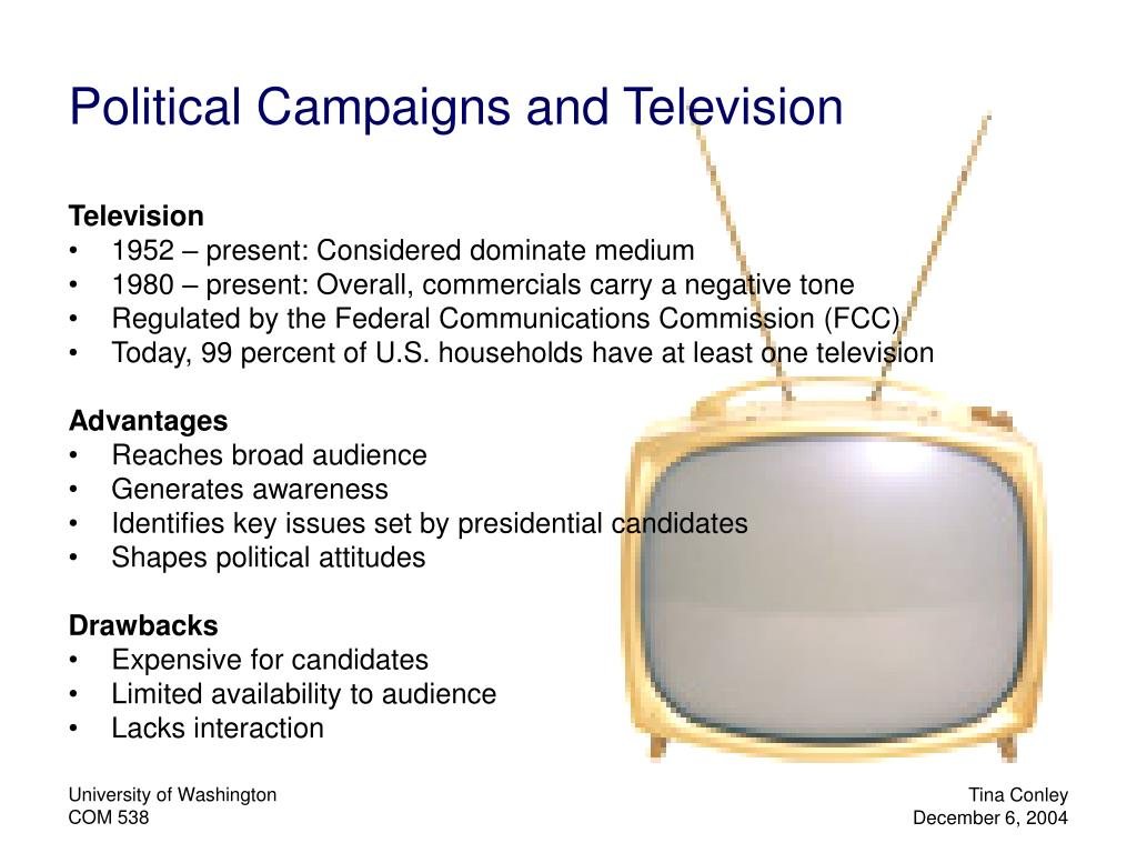 Political Campaigns and Television
