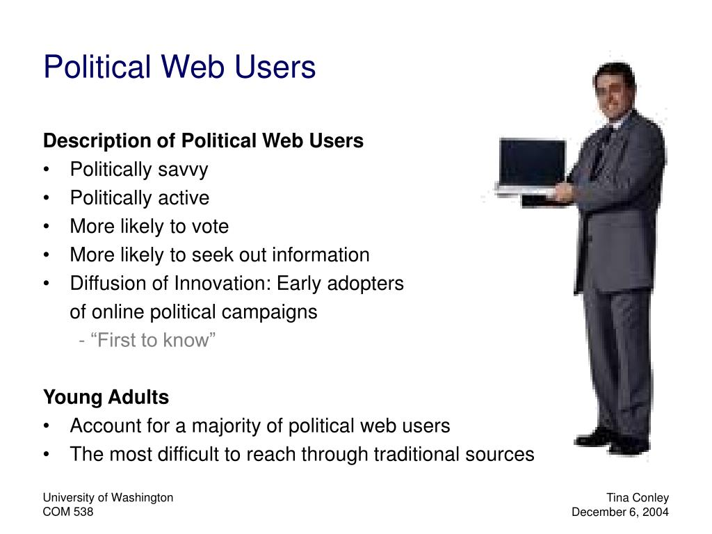 Political Web Users