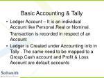 basic accounting tally14