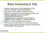 basic accounting tally3