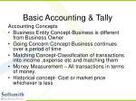 basic accounting tally4