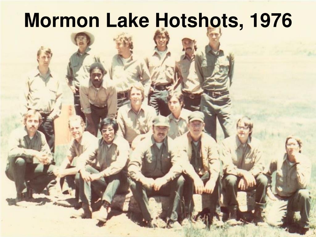 Mormon Lake Hotshots, 1976