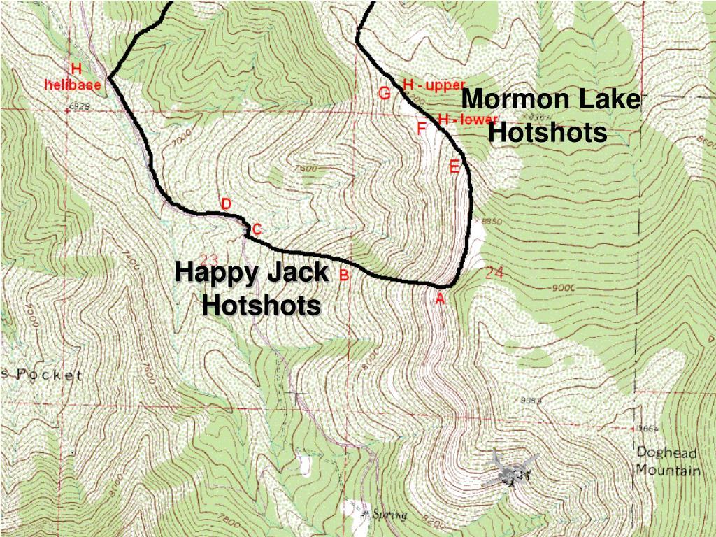 Happy Jack Hotshots