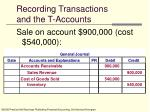 recording transactions and the t accounts9