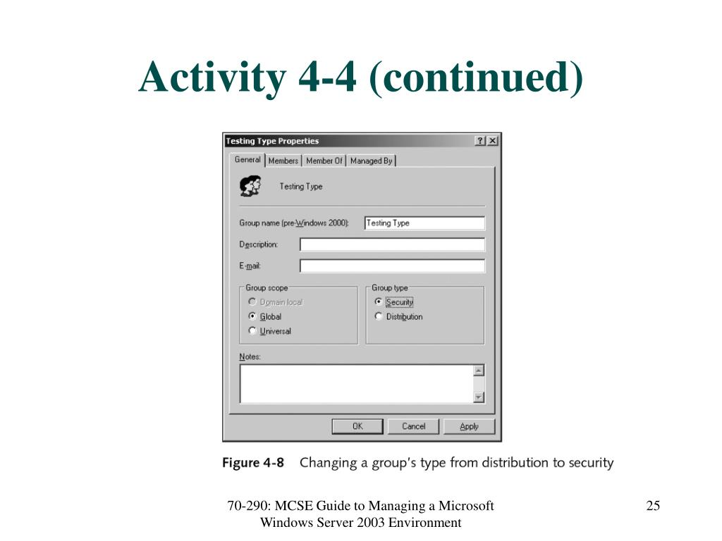Activity 4-4 (continued)