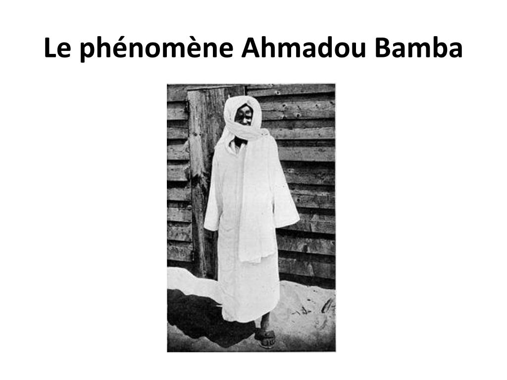 Le phénomène Ahmadou Bamba