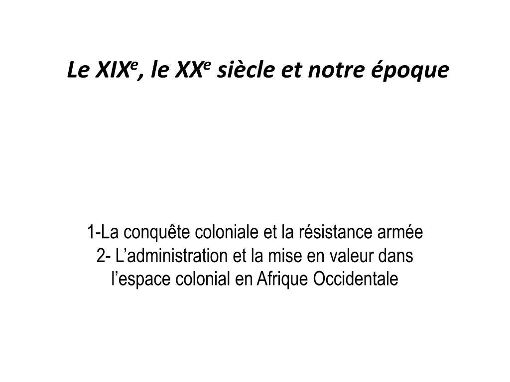 Le XIX