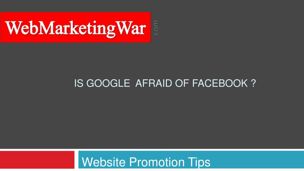Website Promotion Tips