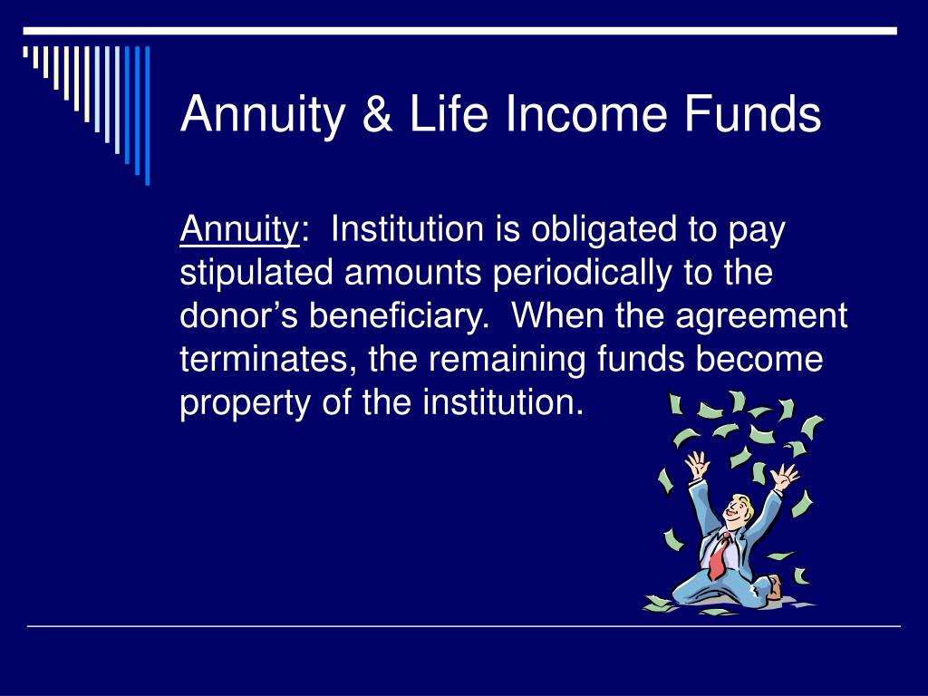 Annuity & Life Income Funds
