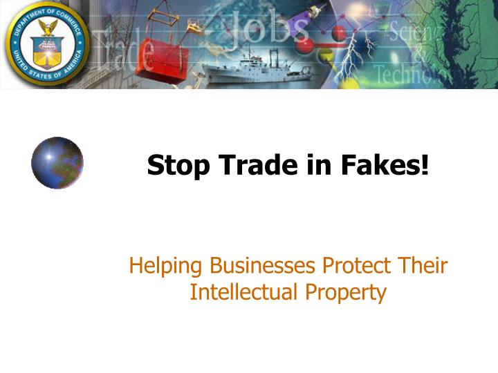 Stop trade in fakes l.jpg