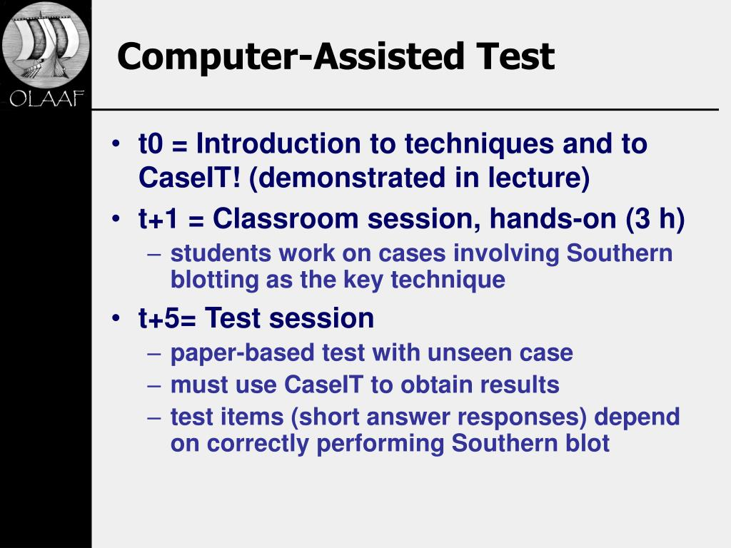 Computer-Assisted Test