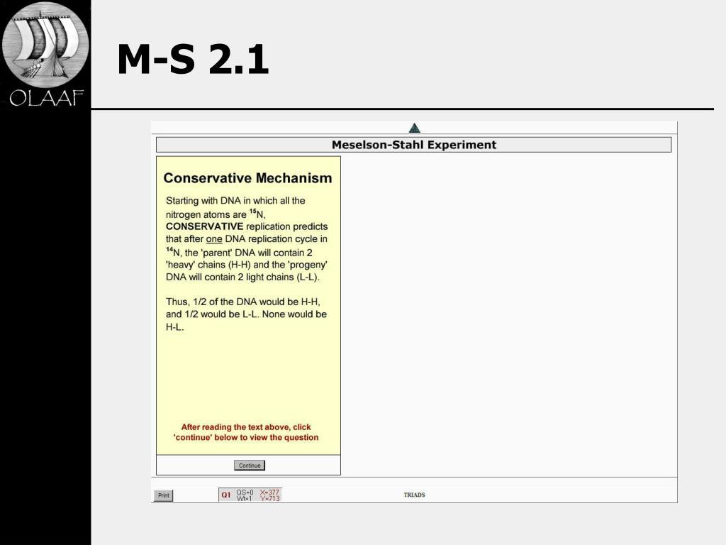 M-S 2.1
