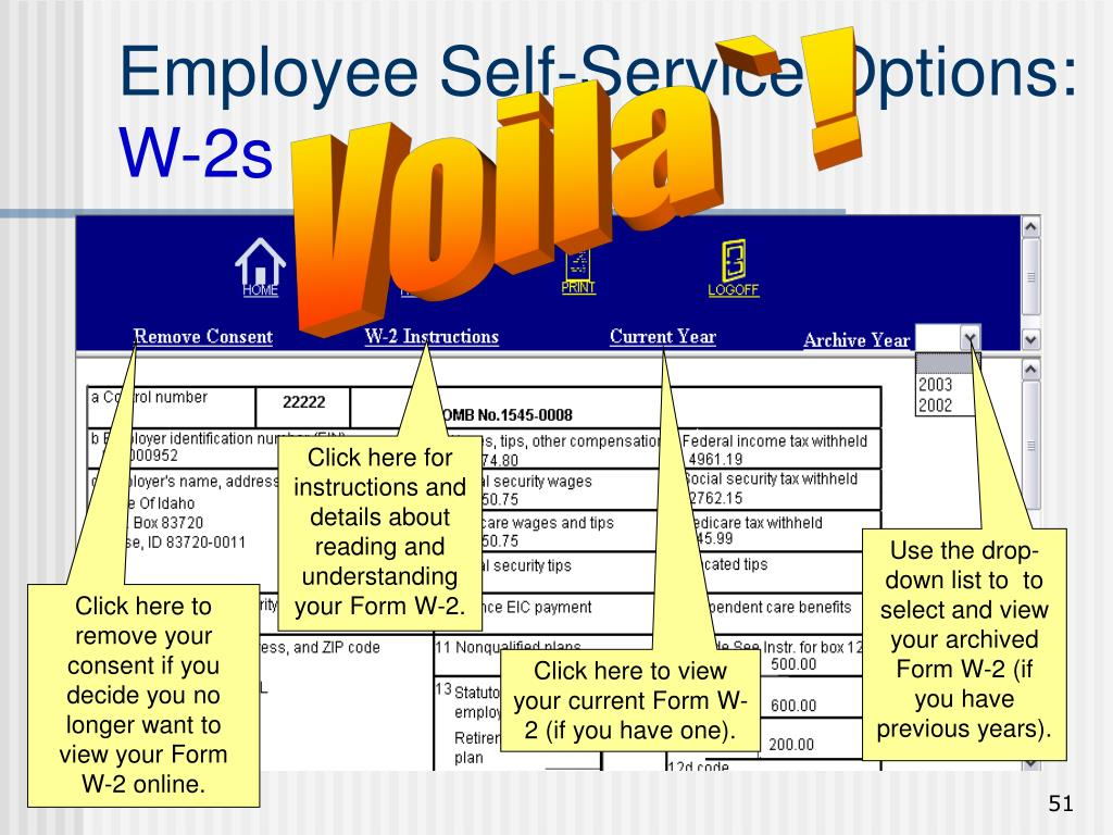 Employee Self-Service Options: