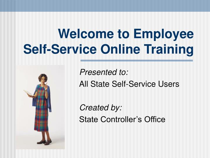 Welcome to employee self service online training l.jpg