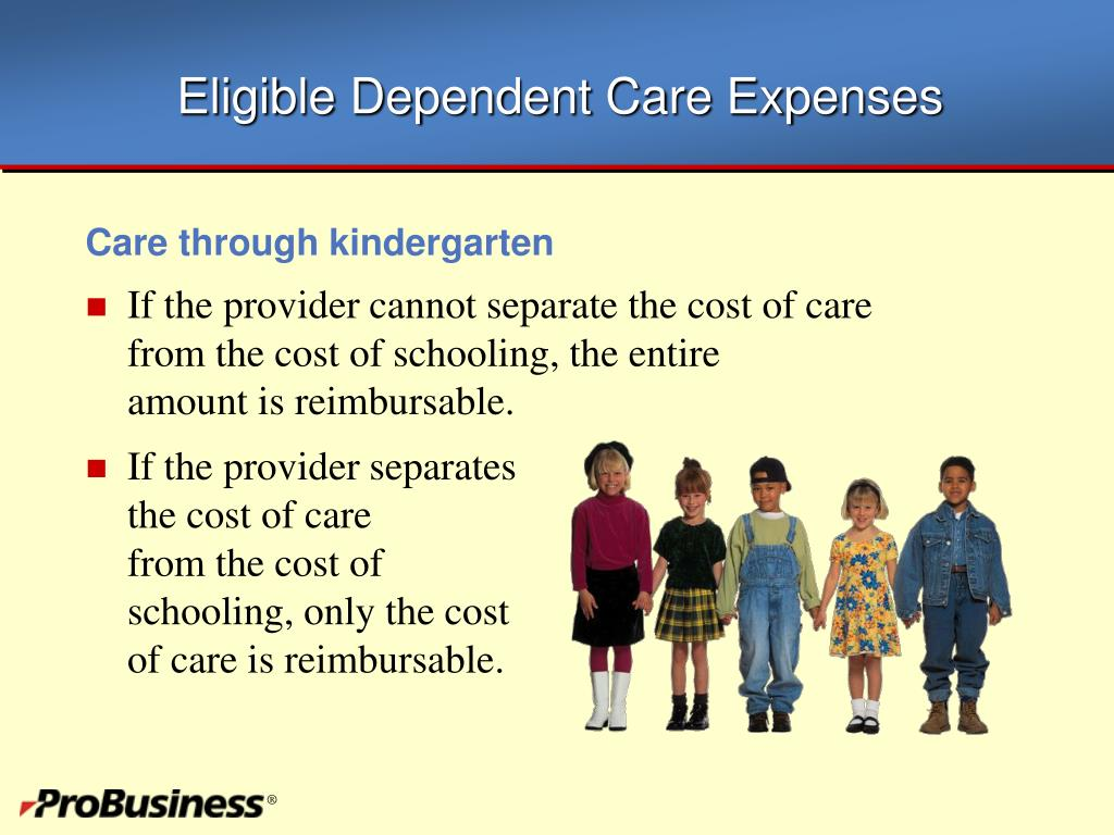 Eligible Dependent Care Expenses