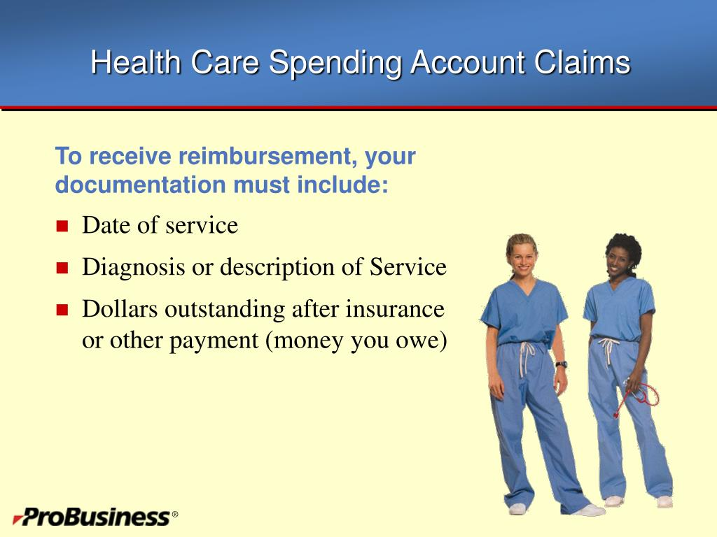 Health Care Spending Account Claims