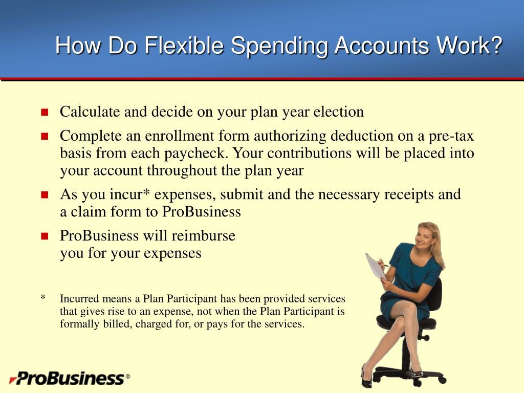 How Do Flexible Spending Accounts Work?