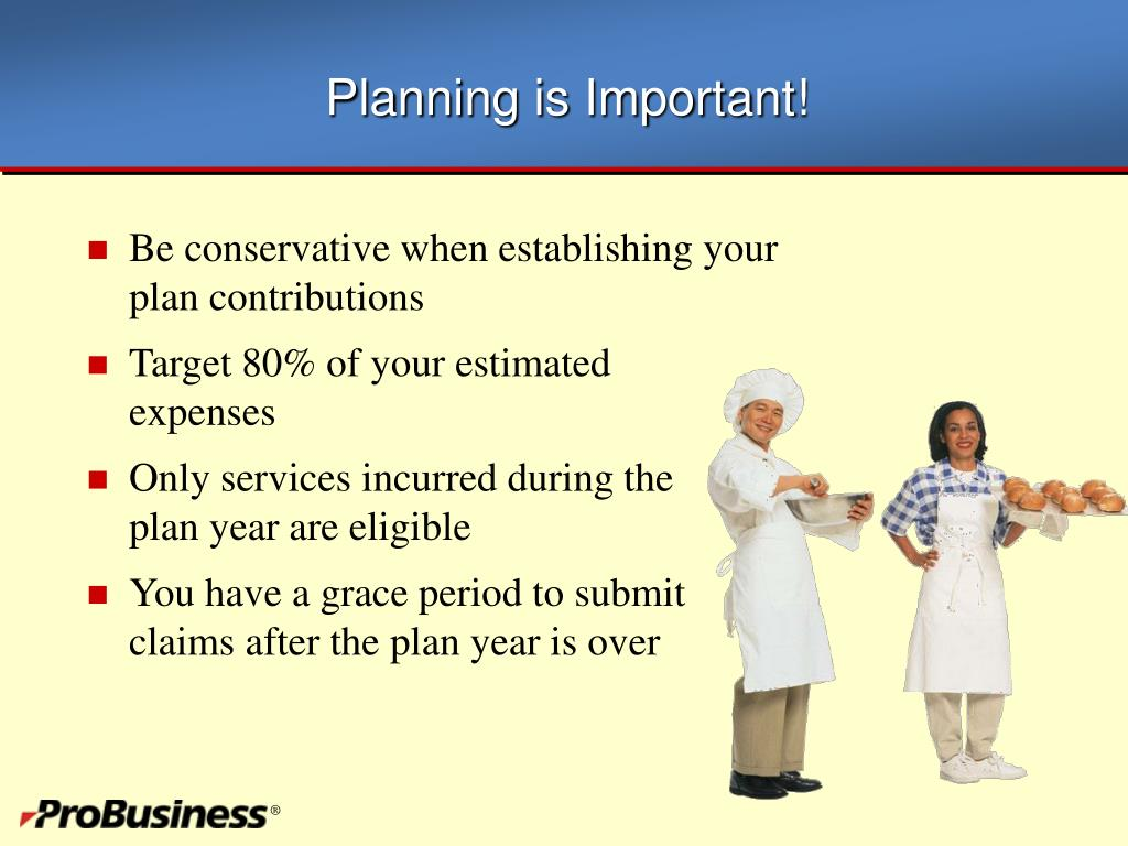 Planning is Important!
